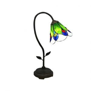 Vital Follower Tiffany desk Lamp with Brisk Breath Design Shape