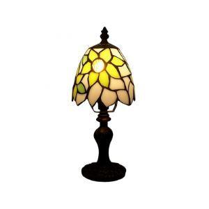 Brisk Tiffany Table Lamp with warming Sun Follower Glass Shape