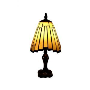 Minimalism Tiffany Table Lamp with Clean Line Décor Shape