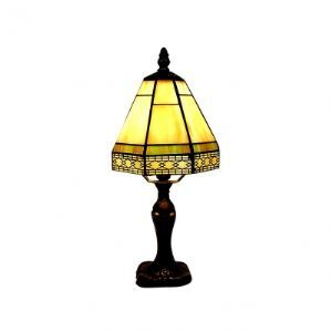 Imperial Classic Tiffany Table Lamp with Warming Colorful Glass Shape