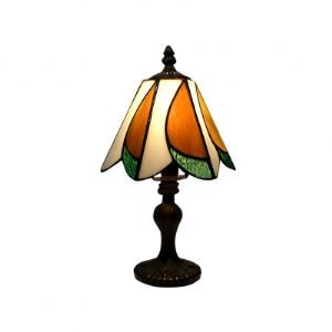 Timeless Elegant Tiffany Table Lamp Fixture with Artistic Design Shape