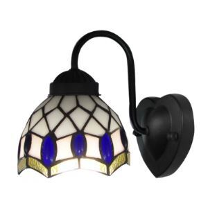 Refined Tiffany Wall Sconce Designed for Both Up and Down Lighting