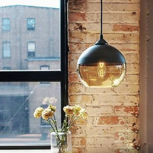 Industrial Pendant Light Bowl Shade Colored Industrial Black Socket Pendant Light