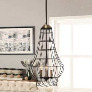 Flush Mount Mini Style Country Living Room / Dining Room Lighting Ideas / Study Room/Office / Kids Room / Entry / Hallway Metal
