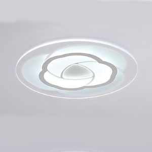 Simple Creative flower Shaped Ultra-thin LED living Room Warm lighting Energy Saving