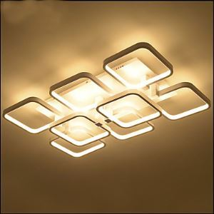 Rectangular Atmospheric Creative Lamp LED Ceiling lamps Energy Saving