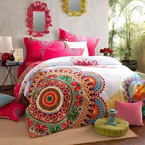 Winter boho Bedding Set Queen King size