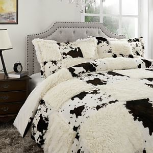 Plaid Polyester Duvet Cover Sets