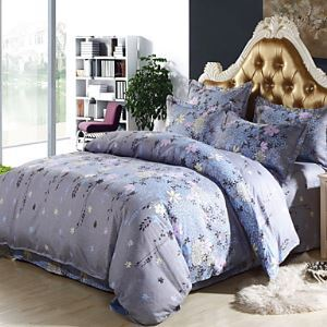 Flower Sea Bedsheet Pillowcases Duvet Cover
