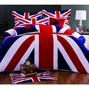 Stripe Cotton 4 Piece Duvet Cover Sets