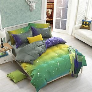 Star Duvet Covers Cotton Blending Twin Full Queen Size