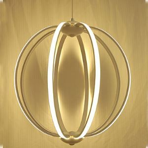 Led Acrylic Ceiling lamps Simple Modern Design Of Linear Ring Pendant Restaurant