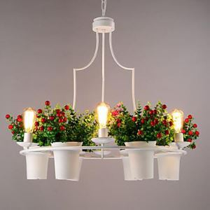 A Greenhouse Pot Restaurant Dining Room Tieyi Chandelier Personality