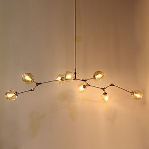 8 Heads Loft Amercian Countryside Vintage Plating Pendant Lamp for Indoor House Decorate Drop Light
