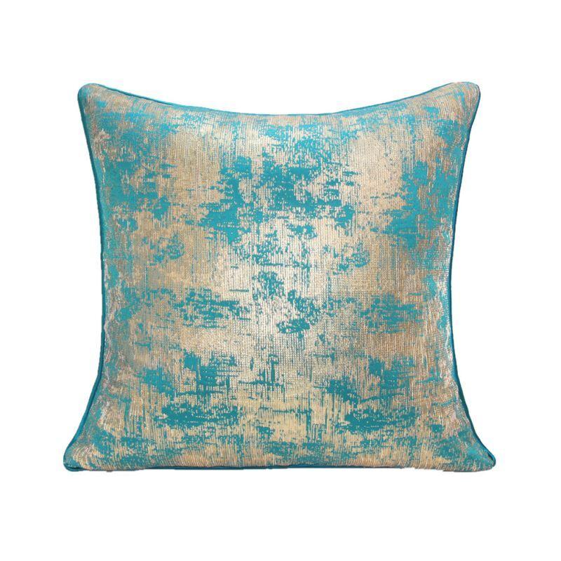 Silver Blue Decorative Pillows : Home Textiles - Throws & Pillows - ATD CASA Modern Nordic Light Blue Silver Throw Pillow ...