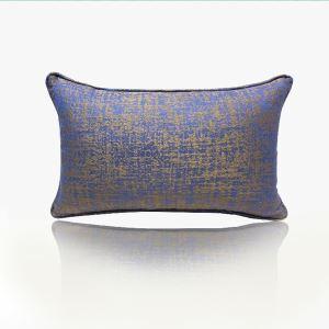 ATD CASA Modern Nordic Throw Pillow Blue Lumbar Pillow