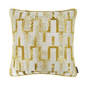 ATD CASA Modern Nordic Decorative Throw Pillow Goldern Abstract Jacquard Cushion Cover Pillow Cover