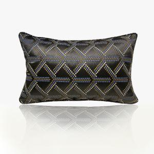 ATD CASA High Quality Decorative Throw Pillow Embroidery Jacquard Lumbar Pillow