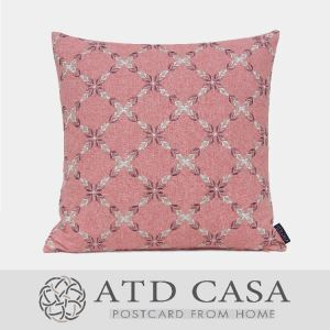 ATD CASA Nordic Pink Throw Pillow Kids' Room Embroidery Cushion Cover Pillow Cover