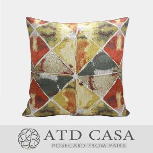ATD CASA Luxurious Modern Decorative Throw Pillow Decorative Cushion Cover Pillow Cover