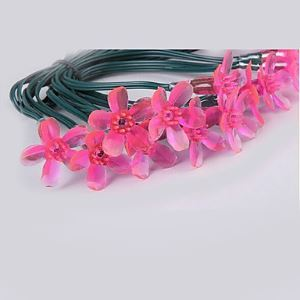 5M 20 LED Pink Cherry Blossom String Lights Energy Saving