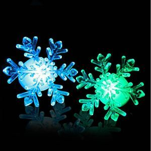 New 2015 7-Color Changing Snowflake Window LED Christmas Decoration Night Light