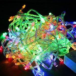 Waterproof 10M 100LED RGB Light LED Christmas Light Decoration String Light (110V)
