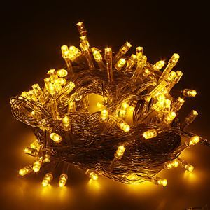 10M Long LED String Of Lights For Christmas Decoration In Warm White