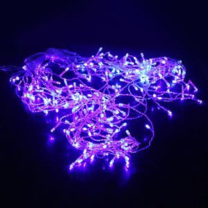 5M 200-LED Blue Light 8 Sparking Modes Christmas Fairy String Lamp (220V) Energy Saving