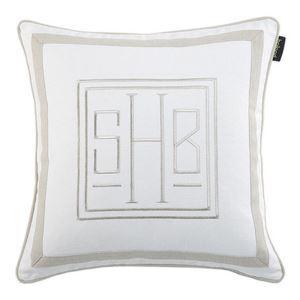 Simple Cotton Flowers Lumbar Pillow Sofa Cushion Cover