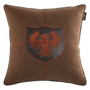 Worsted Leather Embroidery Office Cushion Cover Bed Pillow Cushion Cover