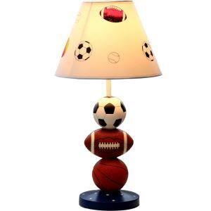 Modern Simple Basketball & Football & Soccer Styling Sport Wind Lamp Globe Shade