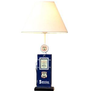 Modern Simple Creative Tanker Modeling Table Lamp Linen Shade