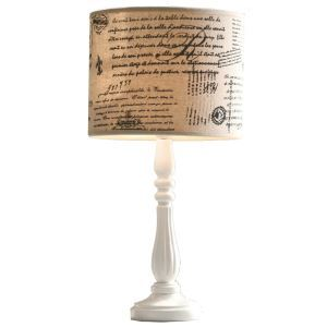 American Simple Rural Garden Style Table Lamp Shade Linen