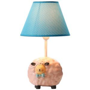 Modern Simple Creative Lovely Sheep Lamp Linen Shade
