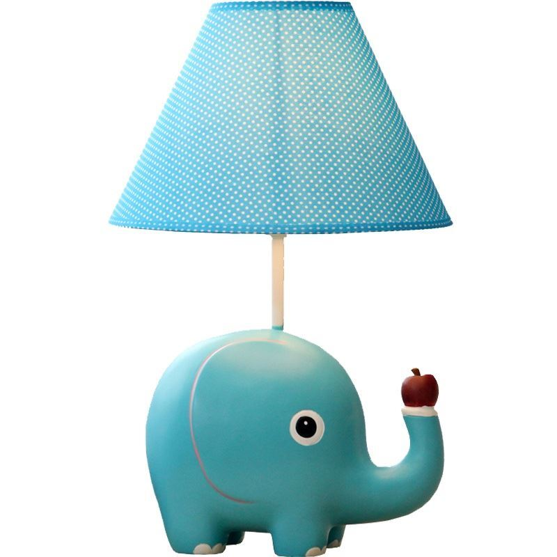Lighting   Table Lamps   Modern Simple Cartoon Elephant Modeling Table Lamp  Linen Shade Img_1 ...