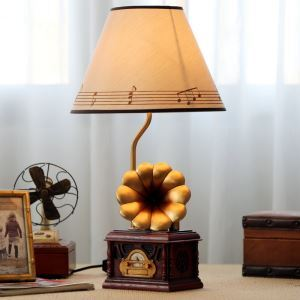 Modern Simple Creative Phonograph Modeling Table Lamp Light Shade