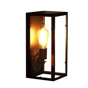 American Creative Fashion Simple Modern Acrylic Iron Wall Lamp