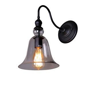 European Simple Modern Personality Art Loft Glass Bell Single Head Wall Light