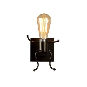 American Village Personality RH Simple Style Iron Bird Cage Single Head Wall Light