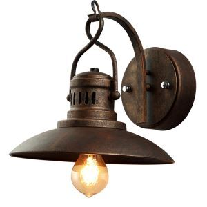 Nordic Industrial Nostalgic Personality Loft Simple Style Iron Single Head Wall Light