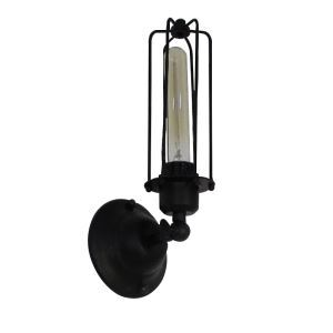 Retro American Personalized Loft RH Simple Style Iron Single Head Gladiator Wall Light
