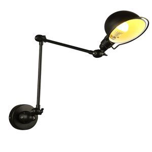 American Rural Iron Industry Retro Style Folding Telescopic Single Head Wall Light