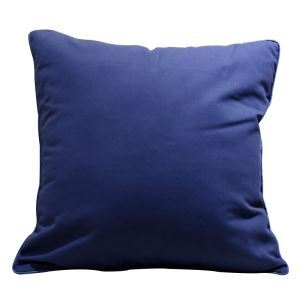 Blue Fashion Bed Solid Pillow Sofa Cushion