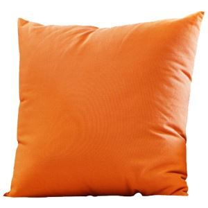 Orange Fashion Solid Pillow Sofa Cushion Bed Pillow