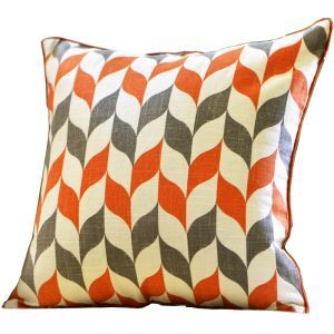 Fashion Geometric Pattern Linen Pillow Cushion Cover