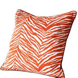 Fashion Zebra Stripes Linen Pillow Cushion Cover