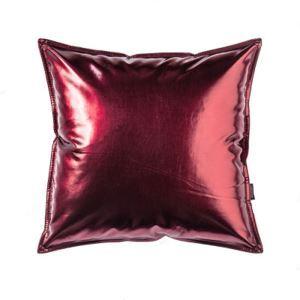 Metallic Color Leather Pillow Sofa Office Pillow Car Waist Cushions Waist Pillow Bedside Back