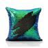 Show details for (In Stock) Mermaid Pillow Cover Mermaid Tail Change Color Sequins Cushion Inverted Flip Sequin Pillow Cover