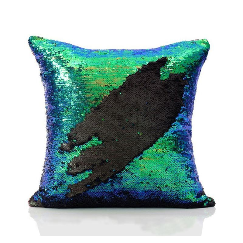 In Stock Mermaid Pillow Cover Tail Change Color